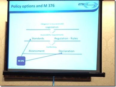 M376の政策上のポジションは標準と義務化の両面