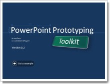 PowerPoint Prototyping Tool kit