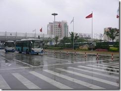 雨の上海空港2