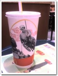 マックのドリンクカップ