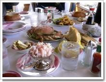 フィッシャーマンズワーフで食べたシーフード