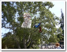 木の上の人
