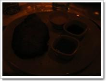 巨大なステーキ