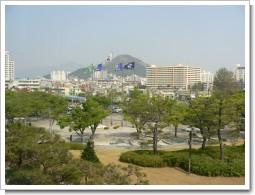 釜山市役所前