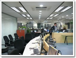 釜山市のITオペレーティングルーム