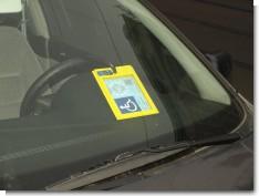Parking permit?